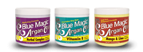 Blue Magic Argans products